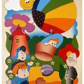 Мозаика «Незнайка на воздушном шаре», Крона Артикул: 143-030
