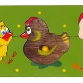 Вкладыши «Птичий двор», Крона Артикул: 143-009