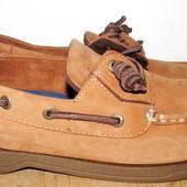 стильные кожаные туфли 27.5 см