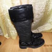 (№і028)фирменные кожаные сапоги 39 р Mac Италия