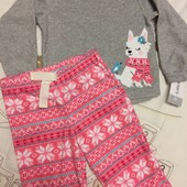 Флисовые пижамки Carter's 18 мес-4t