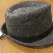 Детская стильная шляпка 7-10 лет