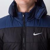 Зимняя куртка найк 2 цвета идеальный вариант для зимы