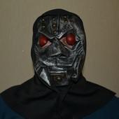 Маска робота резиновая Хэллоуин