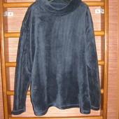 Реглан флисовый, мужской, размер XXL пушистый флис,George
