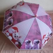 Детский зонт Щенки