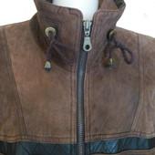 Мужская кожаная куртка на синтепоне Leonardо Р 50-56 Пог-60 см.