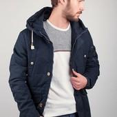 Куртка (пуховик) мужская с капюшоном, теплая №225KF055