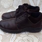 Кожаные ботинки полуботинки Rieker 41 р. Швейцария
