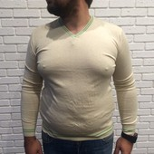 Мужской свитер woollen art бежевый