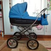 Продам коляску Roan Marita, синяя, для мальчика