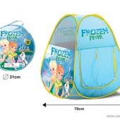 Палатка детская HF 01 в сумке, герои дисней: фроузен,тачки,спайдер,паровозики,супер герои