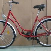 Велосипед West Bike City Comfort червоний. Новий.