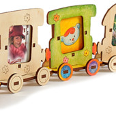 Набор фоторамок «Веселый паровозик», Woody Артикул: В00174