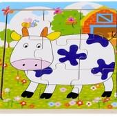 Пазл «Корова», Lelin Артикул: 22-023
