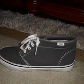 Супер-стильные бренд.ботинки-кеды Vans,натур.Замша,Англия