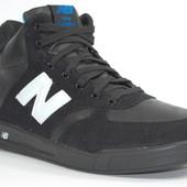 Черные мужские кроссовки на меху New Balance