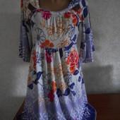 Трикотажное платье - туника Next в отличном состоянии М - L