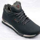 Ботинки  мужские Ecco кожаные зима