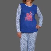 Красивые теплые пижамки в наличии размеры от 40 до 58
