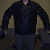 Куртка шкіряна на 56-58 розмір