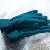 Перчатки флис  Tchibo  Германия 7,5размер