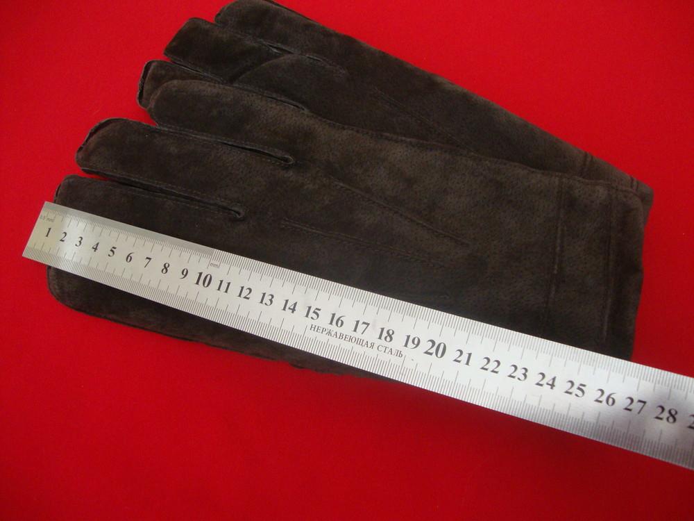 Перчатки tu натур замш размер l-xl фото №2