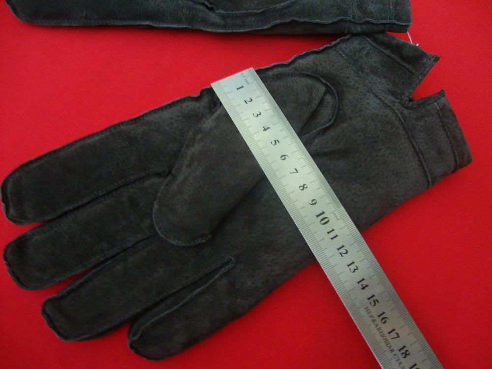 Перчатки tu натур замш размер l-xl фото №3