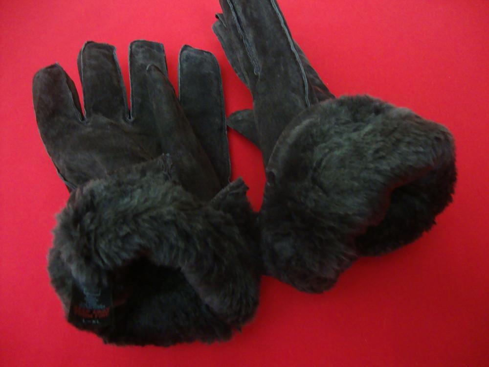 Перчатки tu натур замш размер l-xl фото №5