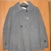 Подростковое пальто Bachrach 75% шерсть