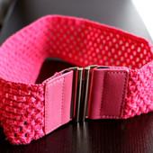 Пояс-Резинка ажурный розовый Тсм Tchibo 90х6