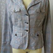 Пиджак шикарный красивый amisu p.46 №7226