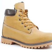 Зимние Мужские Ботинки Коричневые