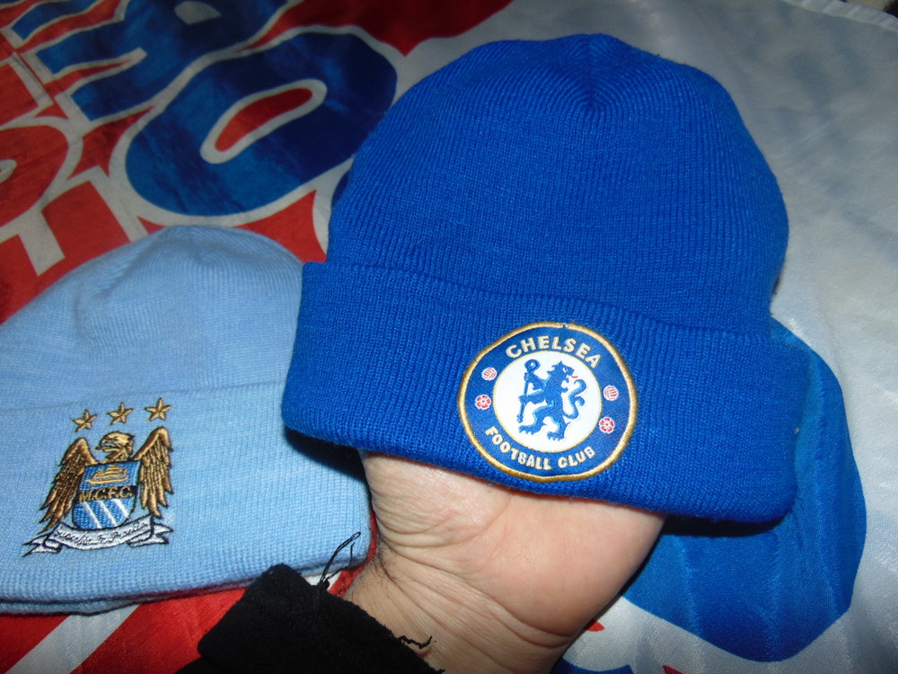 Фирменние спортивние шапочки шапки челси и манчестер сити . фото №4