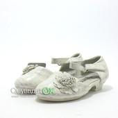 23р. - 32р. Белые нарядные туфли для девочек!