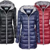 Женская зимняя  куртка пуховик пальто с капюшоном