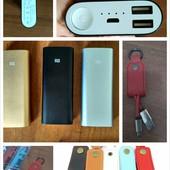 Повербанк Xiaomi 16000 + USB кабель-брелок .