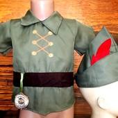 Маскарадный костюм Питер Пен на 3-4 года