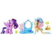 My Little Pony princess Twilight Sparkle & princess Skystar friendship moments set