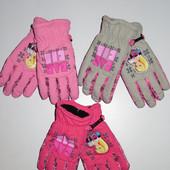Под заказ! Непромокаемые перчатки для девочек Barbie.