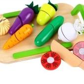 Игровой набор «Овощи на досточке», Lelin Артикул: 65-030