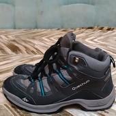 Не промокают!!!Мужские термо-ботинки Quechua (39р) , можно мальчику-подростку!