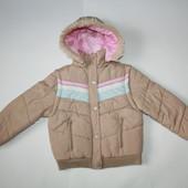 6-7 лет Куртка-жилетка для девочки