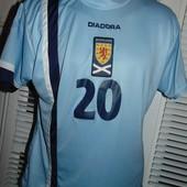 Фирменная футбольная футболка оригинал Diadora.xs-s-m