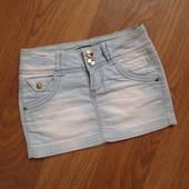 Джинсовая юбка на девочку-подростка Состояние отличное, как новая!