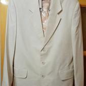 Мужской льняной костюм размер 48-50 бренд Saymont  Tay+подарок.