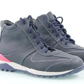 зимние мужские ботинки модель:В- 3-122с