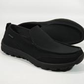 Мокасини туфлі Skechers Relaxed Fit  Memory Foam (30см) супер легкі