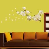 """Наклейки на стену """"Цветы магнолии"""""""