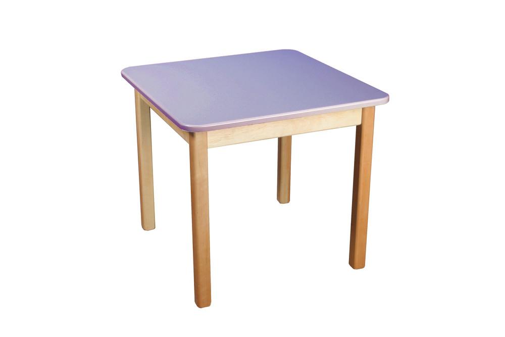Стол деревянный цветной, Финекс (фиолетовый) фото №1